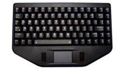 BLT Series LED Backlit Keyboard with Touchpad