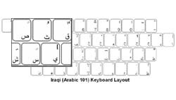 Iraqi (Arabic) Language Keyboard Labels