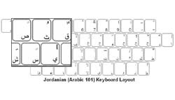 Jordanian (Arabic) Language Keyboard Labels