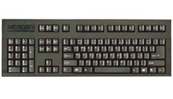 DSI Black Left Handed Keyboard - USB-PS/2 Connector
