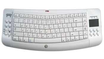DSI Wireless Ergonomic Mac Keyboard with Touchpad W1000M