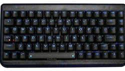 Deck 82 Small Form Factor Blue Backlit Keyboard - Ice