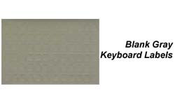 Grey Data Cover Keyboard Labels